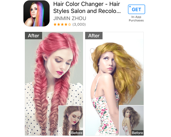 Hair Color Changer - Ayni Magazine