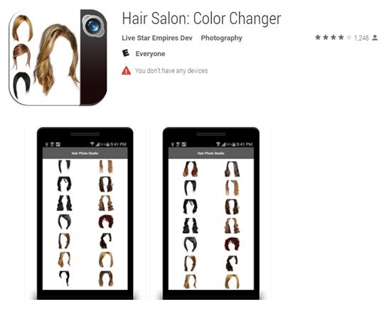 Hair Salon app - Ayni Magazine