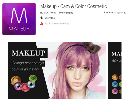 Makeup Cam & Color