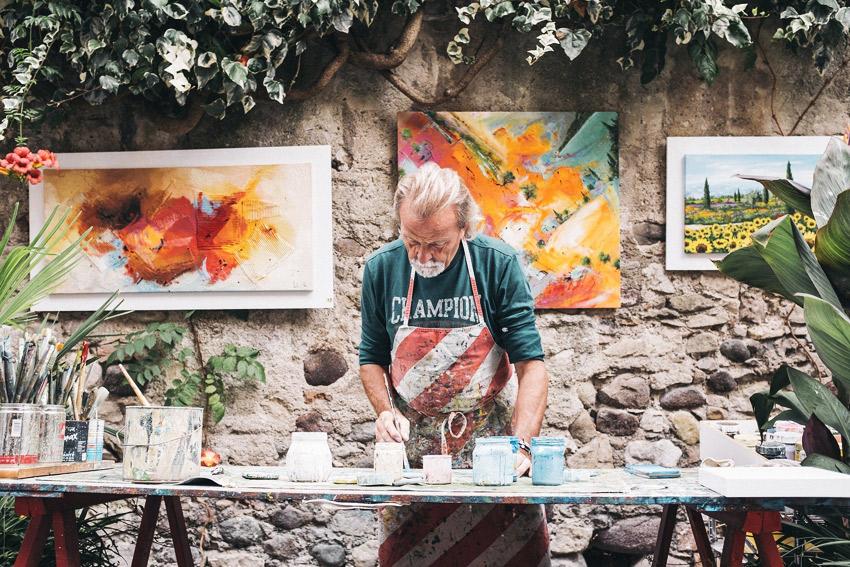 Al Pintor de la Esperanza - poema al pintor - AYNI MAGAZINE